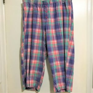 Cacique 100% Cotton Sleep Pants Capri Sz 18/20W